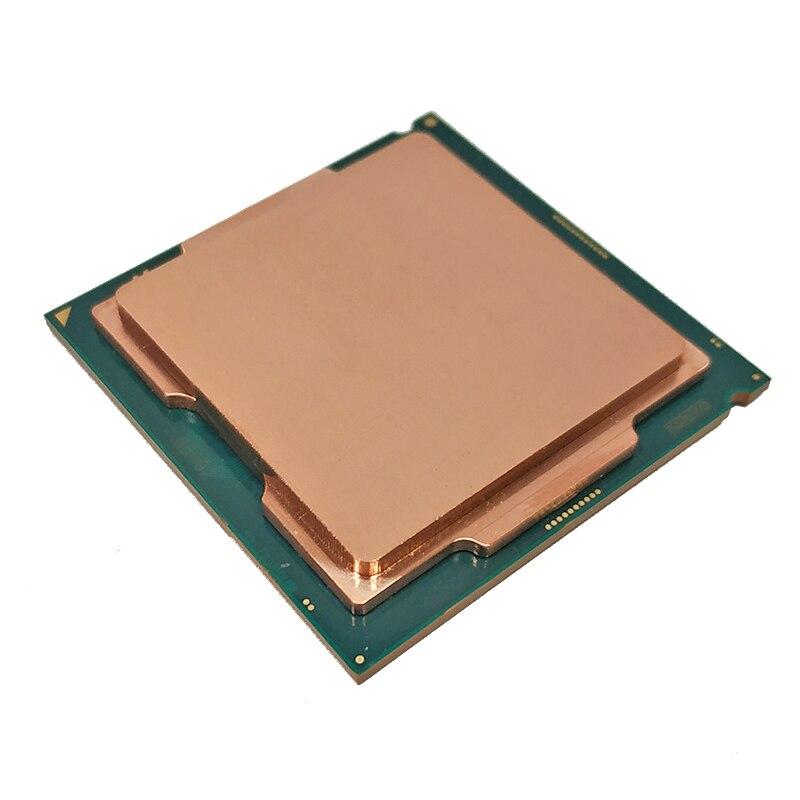 [해외] CPU 오프너 커버 구리 뚜껑 인텔 I7 3770K 4790K 6700K 7700K 8700K 9900K - CPU 오프너 커버 구리 뚜껑 인텔