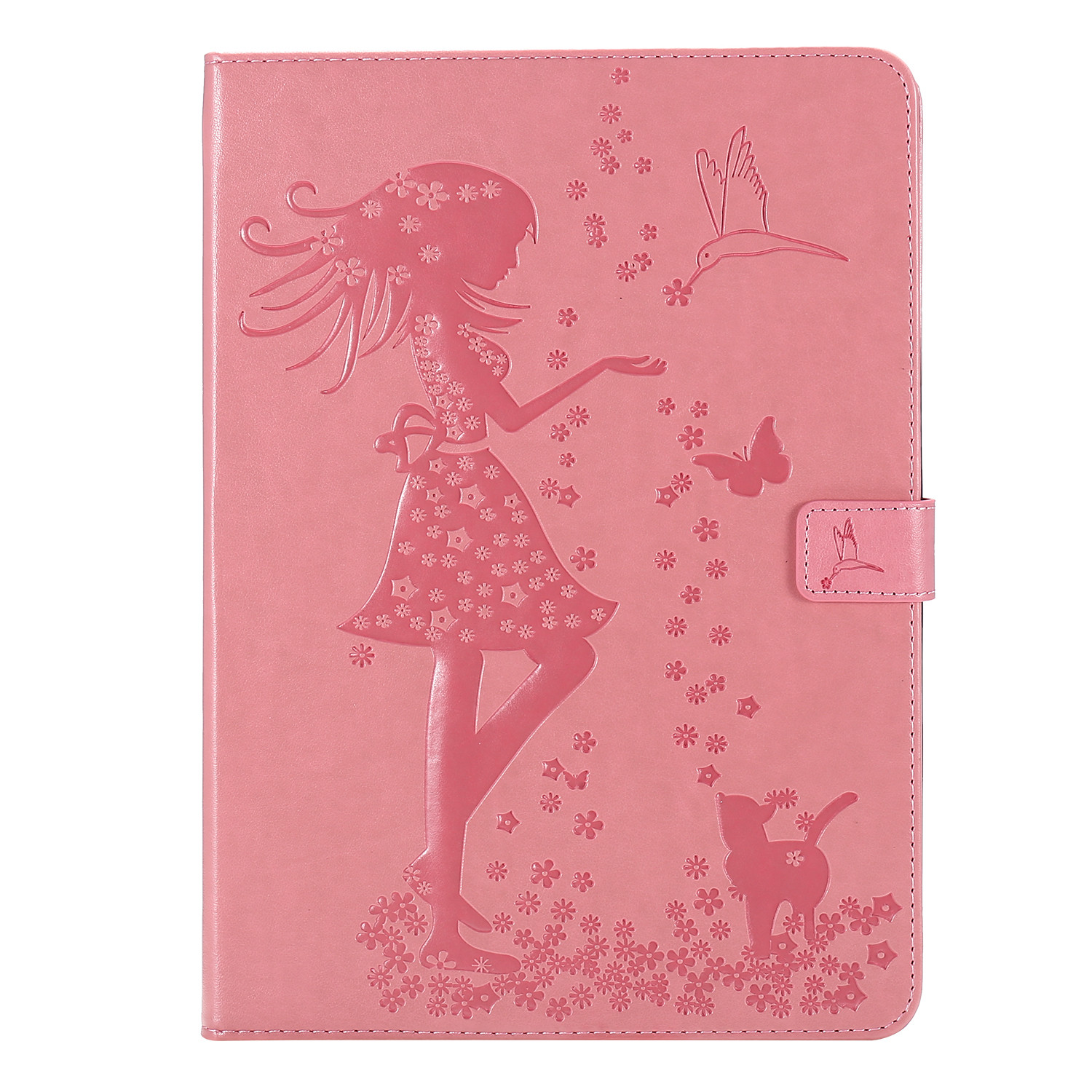 1 White For iPad 4th Gen 12 9 Cover 2020 Funda Cover Stand Leather Shell Folio Protective Case