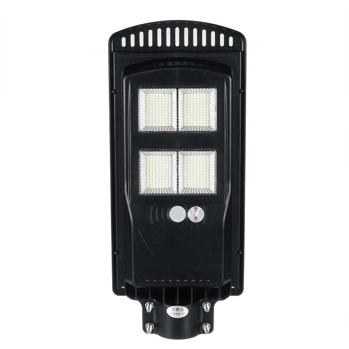 80W 140W 180W LED Solar Street Light Outdoor Solar Wall Lamp Radar+PIR Human Induction Solar Waterproof Landscape Light