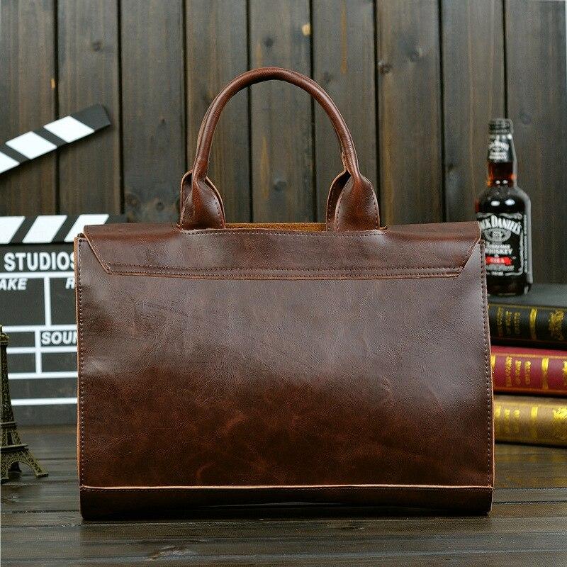 Man Bag Laptop Bag Natural Leather Men Messenger Bags Men's Briefcases Bag Men Leather Briefcase Male Bag