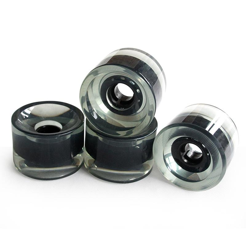 4pcs 70X51mm Longboard Wheel Skate Roller With Bearing Skateboard Part Wheels