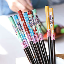 New small fish chopsticks japanese style diamond wood thermal