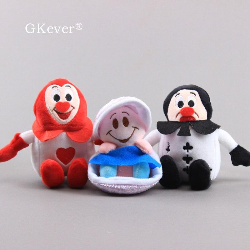 Alice no país das maravilhas jovem oyster kawaii adorável mini brinquedos 10-12 cm presente das crianças