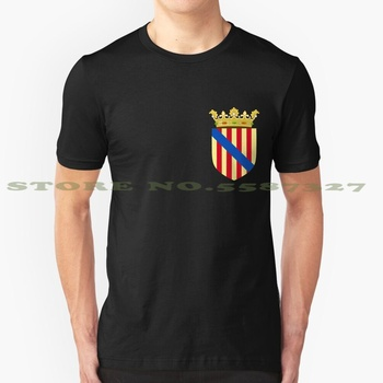 Coat Of Arms Of The Kingdom Of Majorca / Balearic Islands ( 14Th - 20Th Centuries ) Summer Funny T Shirt For Men Women Kingdom image