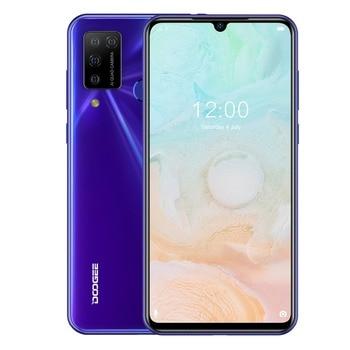 Купить DOOGEE N20 Pro смартфон с 5,5-дюймовым дисплеем, восьмиядерным процессором Helio P60, ОЗУ 6 ГБ, ПЗУ 128 ГБ, Android 10