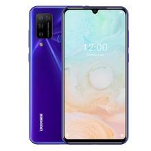 DOOGEE N20 Pro Quad Camera telefony komórkowe Helio P60 Octa Core 6GB RAM 128GB ROM wersja globalna 6 3 #8222 FHD + Android 10 OS Smartphone tanie tanio Nie odpinany CN (pochodzenie) Rozpoznawania linii papilarnych 16MP 4300 Adaptacyjne szybkie ładowanie english Rosyjski