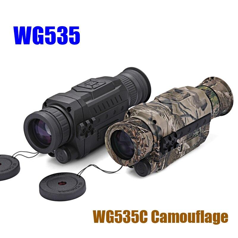 WG540 monoculaires de Vision nocturne numérique infrarouge avec carte 8G TF pleine obscurité 5X40 200M gamme optique de Vision nocturne monoculaire de chasse - 3
