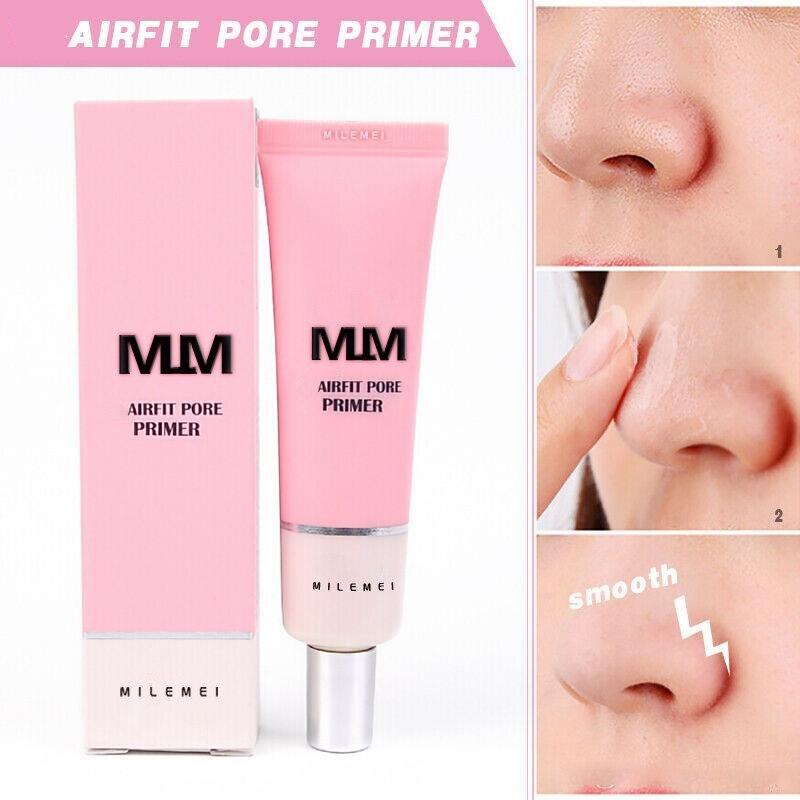 Baza do twarzy fundacja twarzy rozjaśnić krem porów korektor baza przed skóra twarzy Korea do podkładu makijaż W Airfit Pore Primer 1