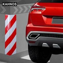 Protección de parachoques de puerta de coche, Espuma adhesiva Exterior antiarañazos, señal de advertencia, Protector de estacionamiento accesorios para auto garaje