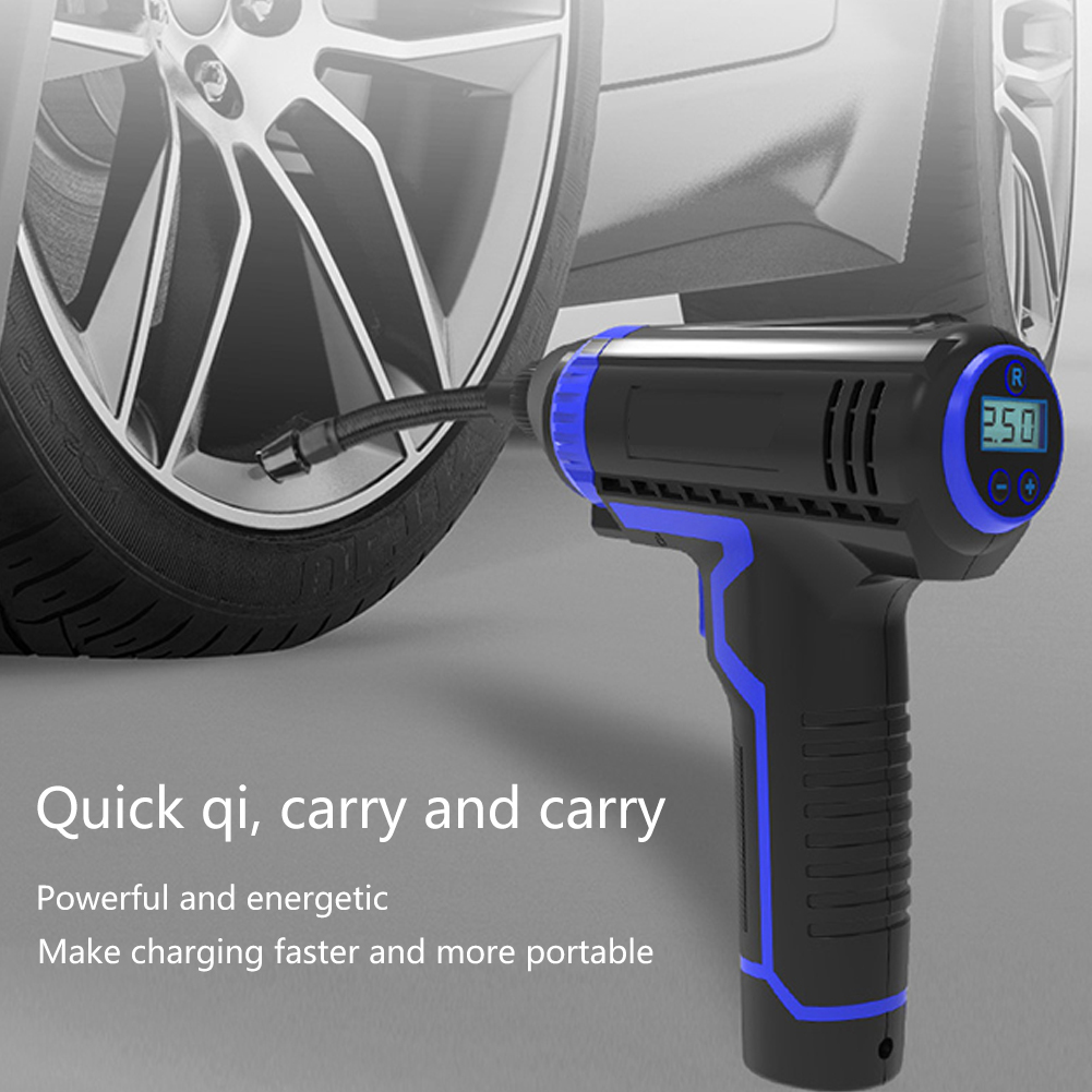 Car Inflatable Pump USB Charging Wireless Handheld Electric 120w Digital Car Air Compressor Pump For Motorcycles Cars Truck