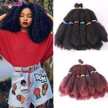 Amir Marley Braids Hair Afro Kinky Bulk Synthetic Hair 14