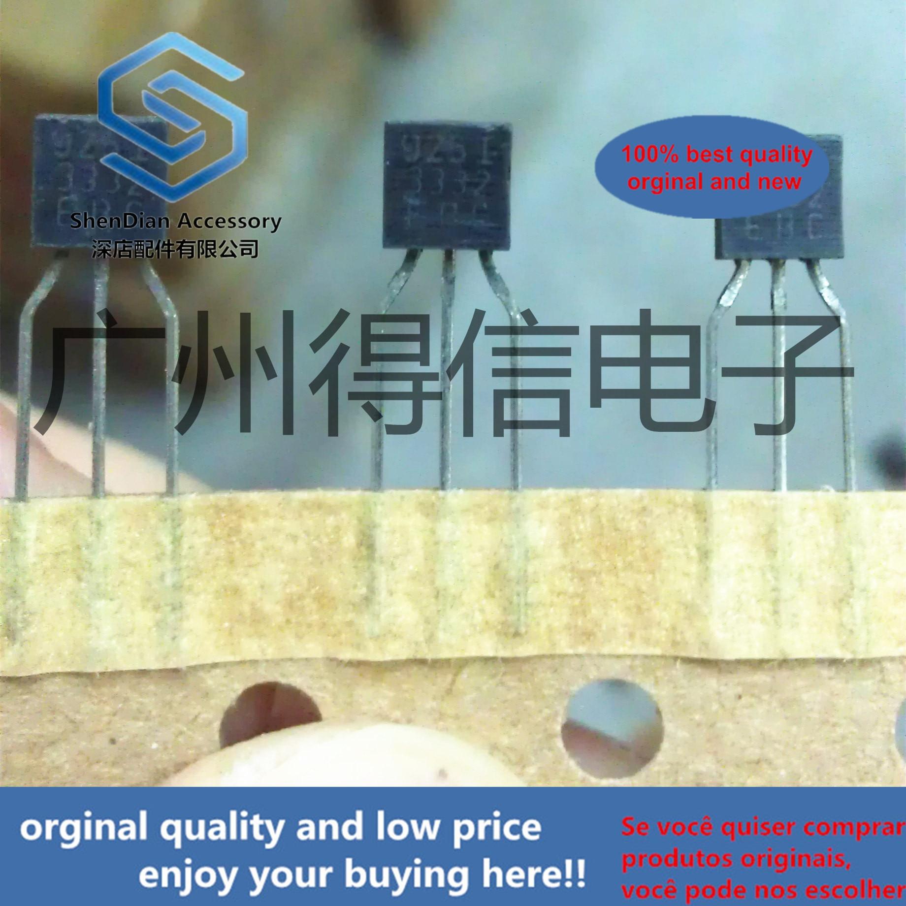 30pcs 100% Orginal New 2SC3332 C3332  TO-92 Original Imported German Triode With E B C Pin Real Photo