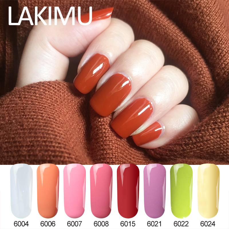 Lakimu un paso 3in1 colorido Gel esmalte de uñas remojo UV Paraness Semi permanente laca Gel esmalte manicura