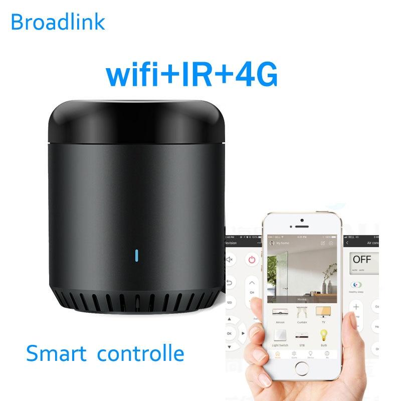 Broadlink RM Mini3 Universal Intelligent WiFi IR 4G Wireless IR Remote Controller Via IOS Android Smart Home Automation 2019 New
