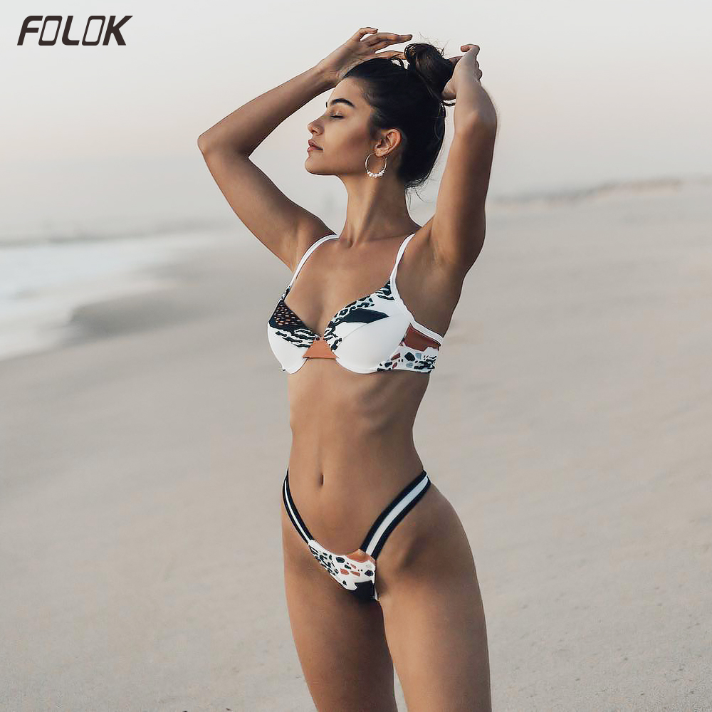 Push Up Women Bikini Sexy Swimsuit Female Bathing Suit Thong Bikini Swimwear Tanga Swimming Suit Beachwear|Body Suits|   - AliExpress