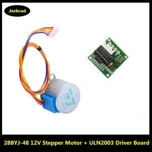 Умная электроника 28BYJ-48 12 В 4 фазы DC шестерни шаговый двигатель + ULN2003 плата драйвера для arduino DIY Kit