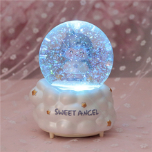 Barbie Crystal Music Box Star Wars Godfather Sends a friend to send a child to send a mother Christmas birthday gift недорого