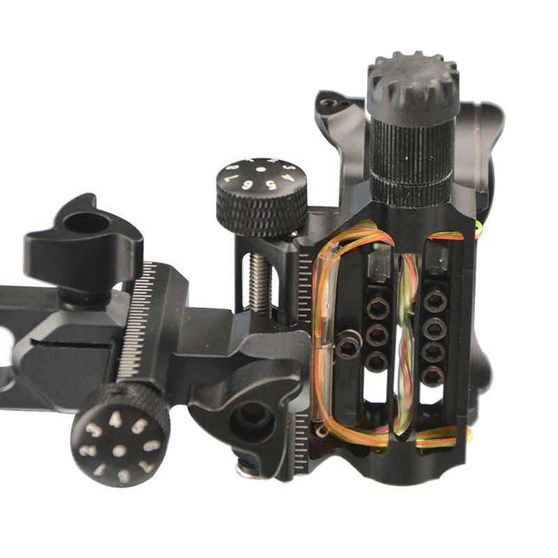 マイクロ 7 ピンボウ視力網膜ロック。 019 右左利き弓視力レーザー Led ライトイルミネーション光ファイバによるマイクロ機器