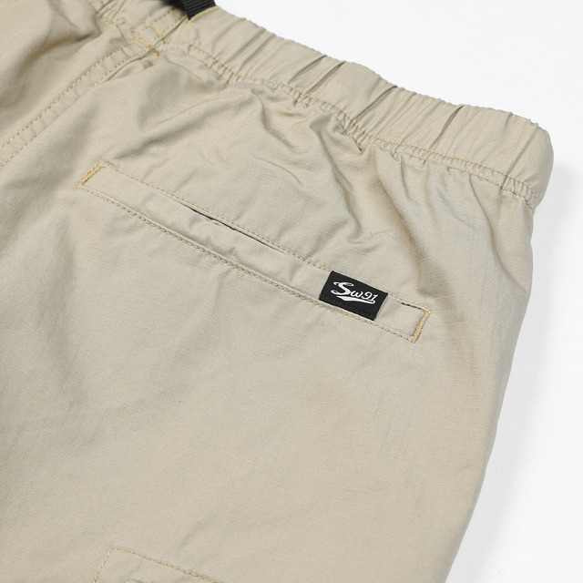 Cargo Shorts with belt and Multi-Pockets