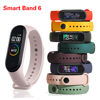 Smart Band 6 For Android IOS My Band 6 Globle Version Fitness Bracelet For Mi Band 6 Spanish French Heart Rate Blood Pressure Cl