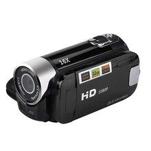 2.4 Cal monitor TFT 16X Zoom cyfrowy kamera wideo DV HD 1080P ręczna cyfrowa kamera z czujnikiem Cmos do 32 GB S