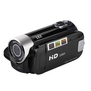Image 1 - 2.4 Cal monitor TFT 16X Zoom cyfrowy kamera wideo DV HD 1080P ręczna cyfrowa kamera z czujnikiem Cmos do 32 GB S