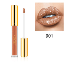 VERONNI Glitter lip gloss Lipstick Diamond Lip Gloss glitterCharming Liquid Metallic Lipgloss 10 Colors