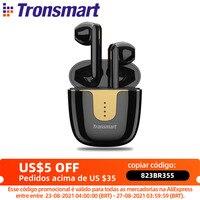 Tronsmart Onyx Ace auriculares inalámbricos Onyx Ace APTX, por Bluetooth, estéreo, con Chip Qualcomm, Control de volumen, duración de reproducción de 24H