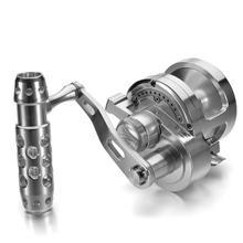 цена на Fishing Reel Iron Wheel Full Metal Machined Drum Type Trolling Wheel Sea Fishing Reel Deep Sea Fishing Reel