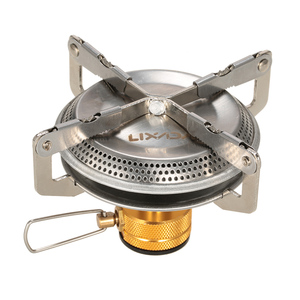 Lixada 3500W Gas Burner Portable Outdoor Camping Gas Stove Hiking Backpacking Picnic Ultralight Cooking Gas Burner Stove Furnace