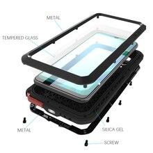 Металлический Чехол Love Mei для Samsung Galaxy A70s, противоударный чехол для телефона Samsung Galaxy A70S, прочный полноразмерный противоударный чехол