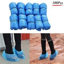 100 шт бахилы-одноразовые гигиенические Бахилы для домашних, строительных, рабочих, внутренних ковров, защиты пола