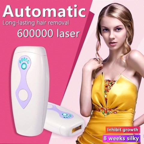 Permanente das Senhoras do Dispositivo da Remoção do Cabelo do Laser Depilador Casa