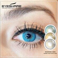 EYESHARE-lentillas de colores para chica rusa, lentes de contacto cosméticos, Color de ojos, uso anual, 1 par, 2020