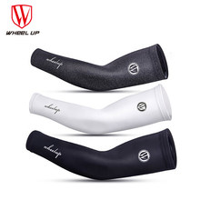 WHeeL UP Arm Sleeve Ice Sleeve Cycling Protection Sleeve Soft Breathable Compression Sports Driving Cooling Bicycle Accessories