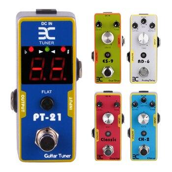 Aiersi-Pedal de efecto de guitarra portátil, Eno Ex, distorsión, Overdrive, retardo de...