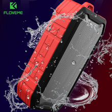 FLOVEME Portable Bluetooth Speaker with Premium Stereo 3D Bass Sound Water&Dust&Fall Proof Handfree 1200ah Range Built in Power