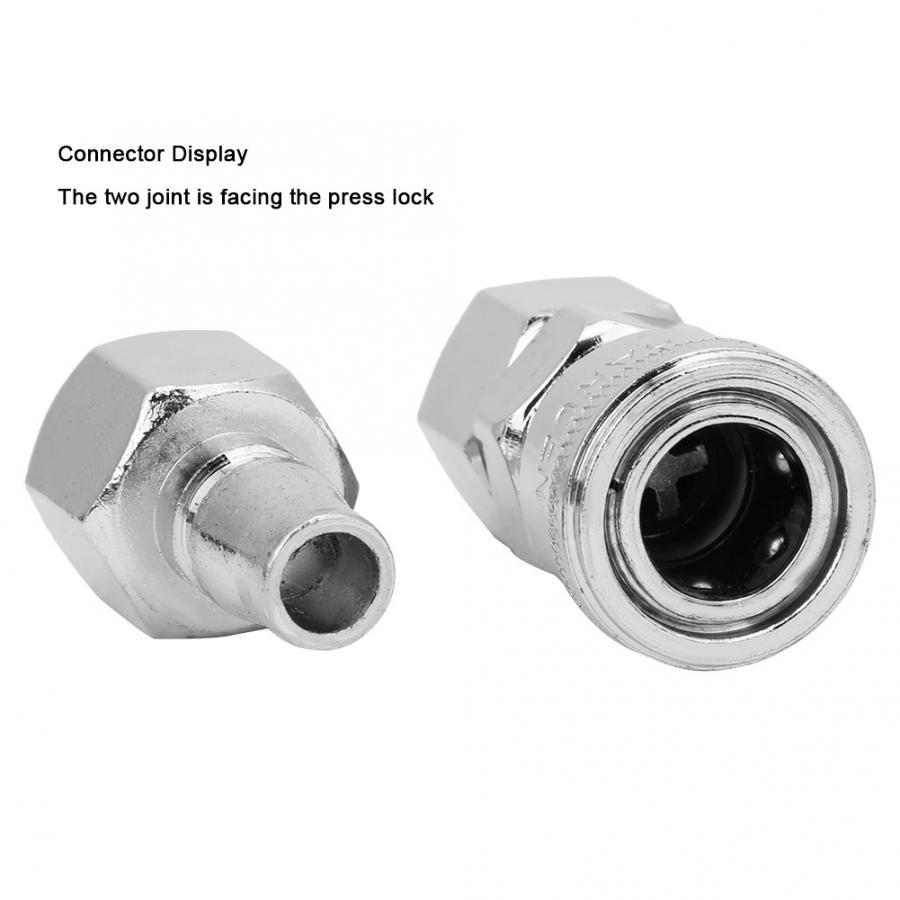 2PCS Quick Connector,Air Hose Fittings,in-line Type Air Compressor Pneumatic Fittings,for Machinery 30 Hydropower,etc