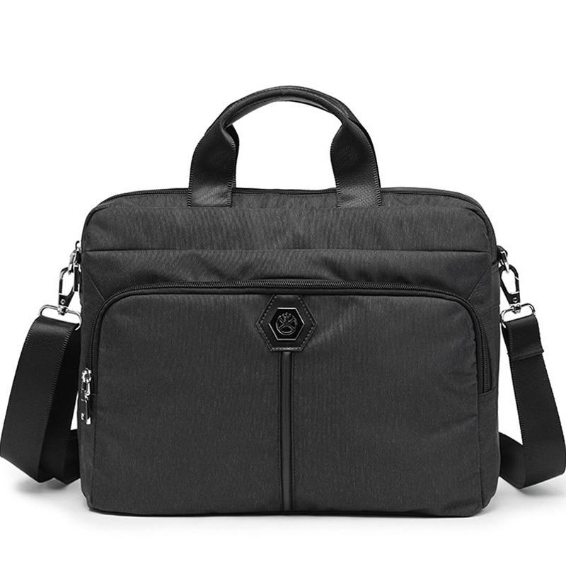 Men Laptop Business Bag 14 inch Notebook Shoulder Messenger Bag Computer Crossbody Bag Handbag Briefcase Bags Male