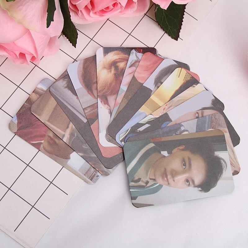 Белая версия Taeyong Mark KPOP NCT 127 самодельный 2018 эмпатия открытки в Альбом Плакат черный автограф фотобумага|Набор канцтоваров|   | АлиЭкспресс