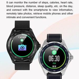 Image 5 - S09 akıllı saat IP68 su geçirmez erkek nabız monitörü kan basıncı spor izci GPS harita Android iOS için Smartwatch