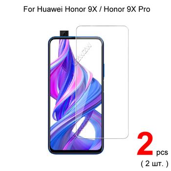 Dla Huawei Honor 9X Honor 9X Pro szkło hartowane ochronne dla Huawei Honor 9X Pro szkło ochronne tanie i dobre opinie UZWZW CN (pochodzenie) Przedni Film Telefon komórkowy 9H 3 times harder than PET screen protector Ultra-thin(about 0 3mm)