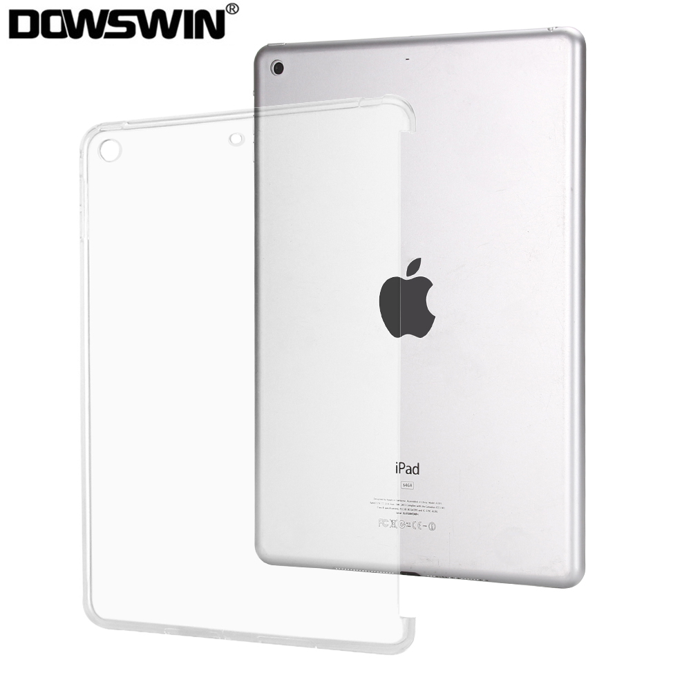 For Apple IPad 10.2 Case 2019 Silicone TPU Back Cover Funda For 7th Generation Case Compatible With Smart Keyboard
