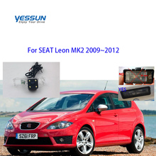 Yessun камера заднего вида CCD для сиденья Leon MK2 2009~ 2012 парковочный обратный резервный 4 светодиодный камера Автомобильный номерной знак