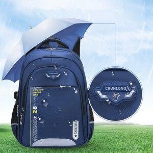 Image 5 - Новые детские школьные ранцы для девочек и мальчиков, школьный рюкзак, черные школьные ранцы, рюкзаки для начальной школы, детские большие школьные рюкзаки