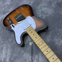 Custom shop custom electric guitar, sunset color, body ash willow jacket cover. Colors, logos and shapes can be customized.