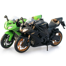 Maisto 1/12 Kawasaki Ninja ZX-10R 2010 Motorcycle Motorbike Diecast Display Model Toy For Kids Boys Girls front upper fairing cowling headlight headlamp stay bracket for kawasaki ninja zx10r zx 10r 2008 2009 2010