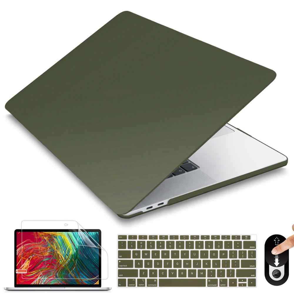 FAT SHEEP Matte /& Crystal Hard Shell Case with Keyboard Cover for 2019 for MacBook Pro 13 TouchBar A2159 2018 Air 13 A1932 Retina 11 15,Clear Transparent,Air 13 A1466 A1369