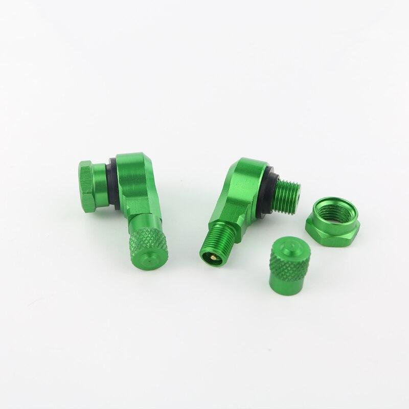 Для BMW S1000RR S1000R S1000XR HP4 R1200RS G310R мотоцикл 2 шт. алюминиевые шины клапан Стебли бескамерные клапаны 11,3 мм - Цвет: green