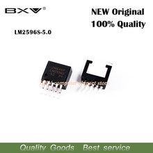 10PCS LM2596S-5.0 LM2596S 5.0 LM2596 TO-263-5 Free shipping